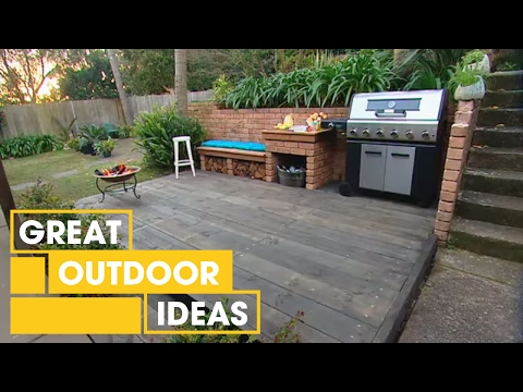 DIY BBQ Area Makeover | Outdoor | Great Home Ideas