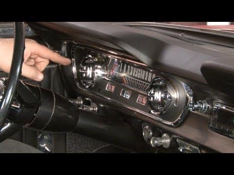 Mustang Instrument Bezel and Lens 1965 Installation
