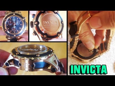 INVICTA Reserve Battery Replacement Specialty watch 5657 mid size 5656 midsize 5658 subaqua