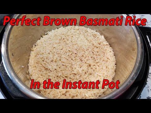 Pothead 101 - How to make Brown Basmati Rice in the Instant Pot | Basmati Brown Rice Recipe
