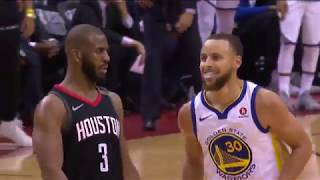 Chris Paul mocks Steph Curry with shimmy after crazy three pointer