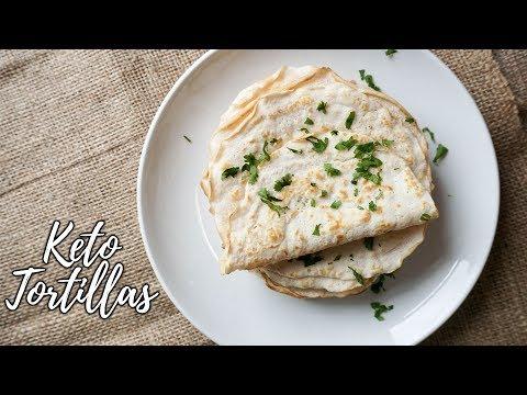 2 Ingredient Low Carb Tortillas | Keto