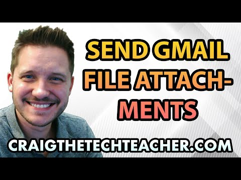How To Send Document and Image File Attachments with Gmail