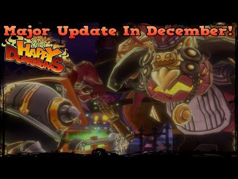 Major Update Coming In December! [Happy Dungeons]