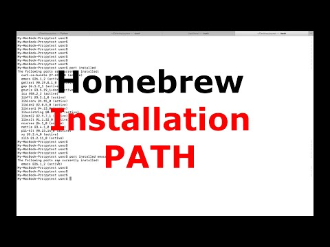 Where Homebrew Packages Are Installed on Mac OS - Installation Path
