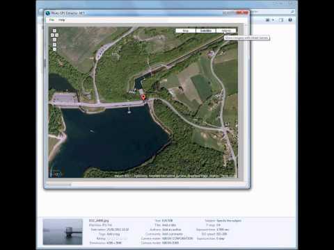 Photo GPS Extract - Demo