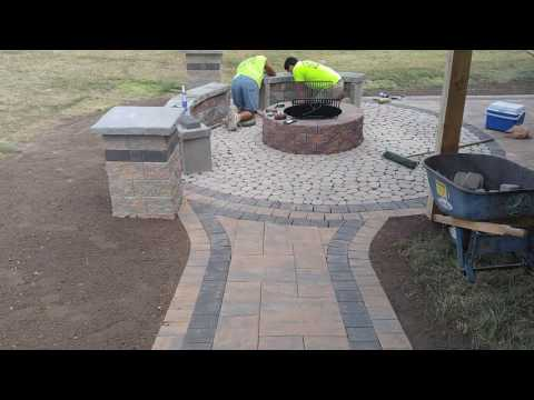 Hanover outdoor living company specializing in pavers, patios, retaining walls, & fire features - Ry
