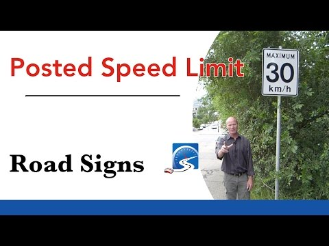 What are the Speed Limits in Road Test | Pass a Road Test SMART