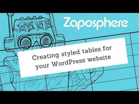 Creating beautiful tables for your WordPress website - without HTML coding