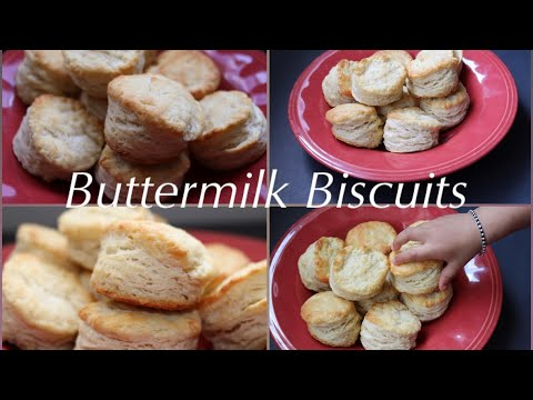 Perfect Buttermilk Biscuits (Flaky and Fluffy)