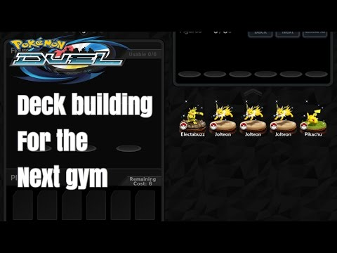 Pokemon Duel - Deck Building for the Next Gym