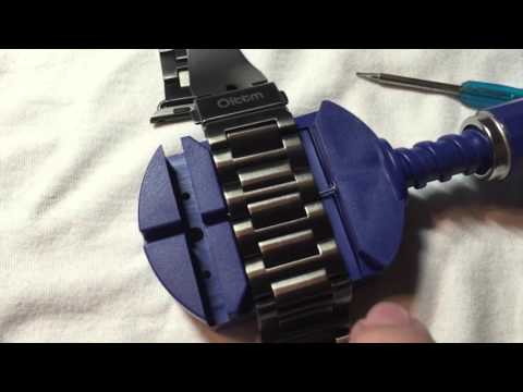 Oittm Apple Band Unboxing, Review, & Link Adjustment Tutorial for the Tool Kit!