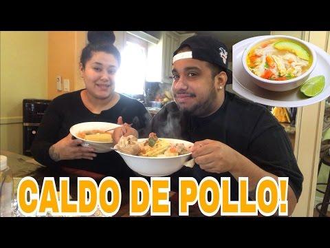 Caldo De Pollo 🍜🍗 /Chicken Soup mukbang