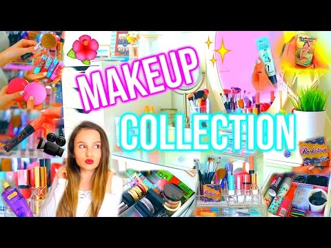 Makeup Collection & Alex 9 Draw Tour! + GIVEAWAY : Lovevie