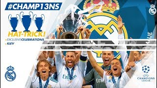 Real Madrid Champions HAT-TRICK | Three unforgettable FINALS