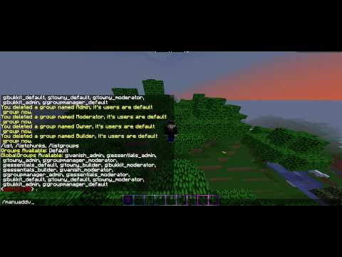 [Minecraft] Creating a server: Chat Formatting