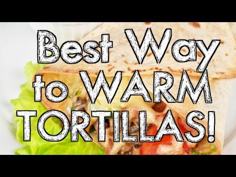 Best Way to Warm Tortillas
