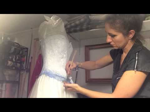 Making The Corpse Bride Wedding Dress 2