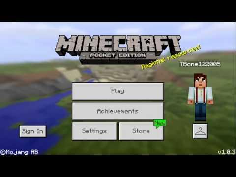 Minecraft PE Hunger Games Server v1.0.3