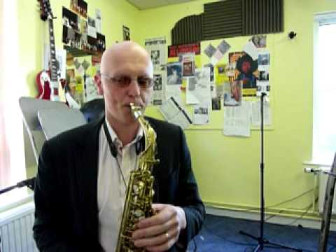 Altissimo notes for alto sax by Steve Bone