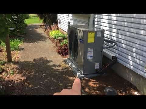 Side Discharge Air Conditioning Install