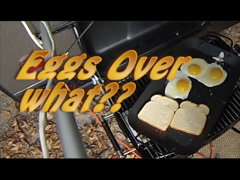 EGGS on the Griddle? Ron Trying to Cook!