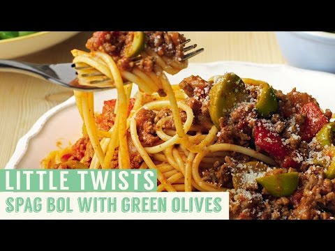Spag Bol with Green Olives