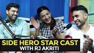 Side Hero Star Cast With RJ Akriti | Eros Now | Gauhar Khan | Arjun Kanungo