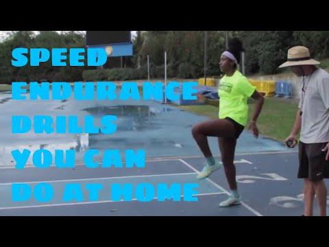 Speed Endurance Drills