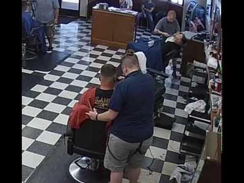 Barbershop Live -Two haircuts military -22/07/ 15 by Tonykareca