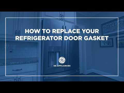 WR14X10377 - GE Appliances French Door Refrigerator Gasket Installation - Fresh Food Door