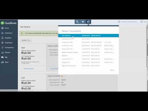 MVAT Tax Payment Video