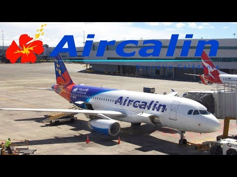 FLIGHT REPORT / AIRCALIN AIRBUS A320 / NOUMEA - AUCKLAND