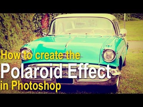 Photoshop Tutorial: How to Create the Polaroid Effect
