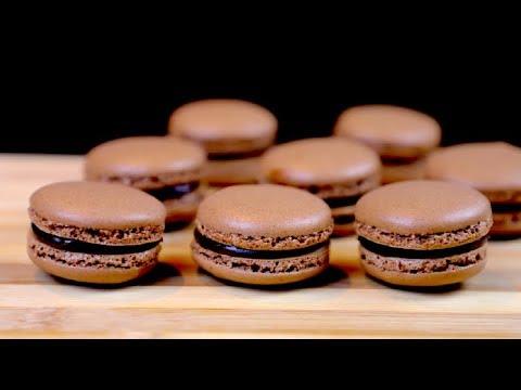 Macaron recipe - French chocolate macaron recipe