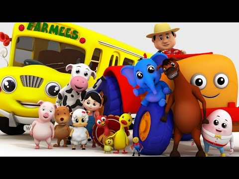 Top 20 Nursery Rhymes Collection with Farmees | Kids Songs | Children Rhymes by Farmees