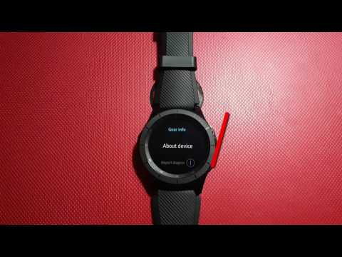 How to Check the storage on Samsung Gear S3