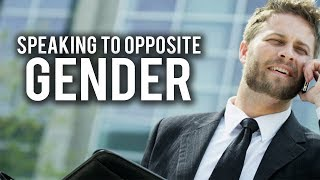 CAN YOU TALK TO THE OPPOSITE GENDER AT WORK?