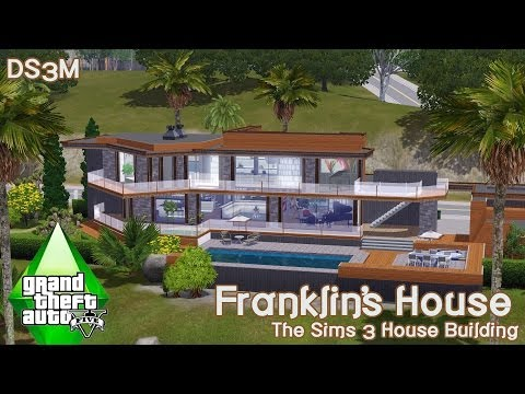 The Sims 3 - House Building - Franklin's house GTA V