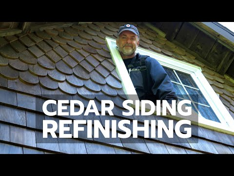 CEDAR SIDING REFINISHING: Here's How to Do It Right