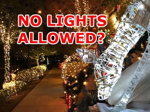 Inspirada  HOA says annual lights competition is in violation of rules