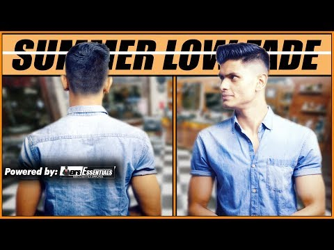 BEST SUMMER HAIRSTYLE for INDIAN Men and Boys 2018 | MEN'S LOW FADE HAIRSTYLE | Mayank Bhattacharya