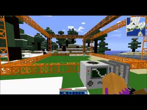 Minecraft Tekkit - Quarry and Sorter Tutorial