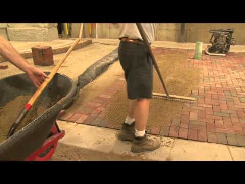 Compaction of Clay Pavers