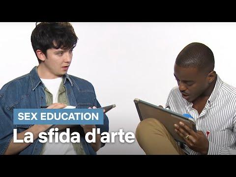 Xxx Mp4 La Sfida D'arte Del Cast Di Sex Education Netflix 3gp Sex