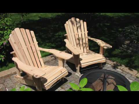 Bob's New England Woodcrafters - See How We Make Our Adirondack Chairs