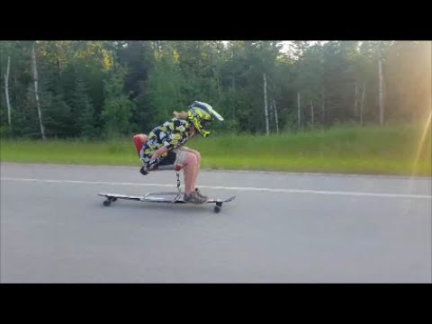 Speed records and speed wobbles on epic Death chair