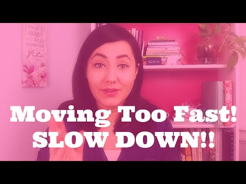 Relationship Red Flag:  Why You Should Take It SLOW