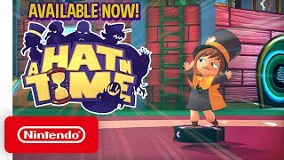 A Hat in Time - Launch Trailer - Nintendo Switch