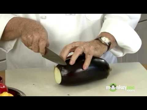 How To Cut Eggplant